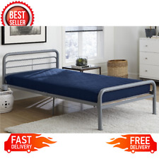 6 Inch Polyester Filled Quilted Top Bunk Day Bed Mattress Twin Navy Guest Room