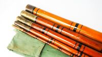 "EARLY & RARE UN-NAMED LONDON 5PC 18'6"" FISHING POLE"