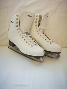 Jackson Ultima freesport Figure Skates for Women and Girls in White Olympian