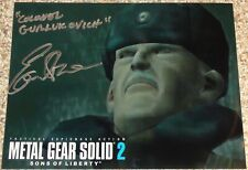 "Autographed METAL GEAR SOLID 2 Photo Signed By EARL BOEN ""COLONEL GURLUKOVICH"""