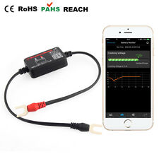 12V Battery Tester Bluetooth Load Charging Cranking Voltage Test for iOS Android