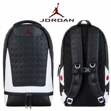f67d4d4f87ce83 Nike Air Jordan 13 XIII Retro He Got Game Backpack White Black True Red  2018 Bag