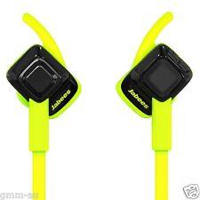 Jabees Beating Bluetooth Wireless Sweatproof Sports HD Stereo Headphones Green