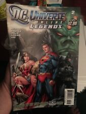 DC Universe Online Legends #2! In VF/NM Condition! RARE! WOW! LOOK!