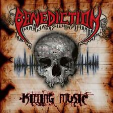 Benediction - Killing Music CD 2014 digipack reissue death metal bonus tracks