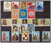 S15534) Vatican MNH 1970 Complete Year Set 21v