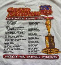 Grand National Roadster Show T Shirt San Francisco CA 1999 50th Anniversary XL