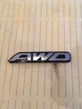 Subaru Forester S Turbo boot tailgate rear badge  AWD OEM JDM RARE