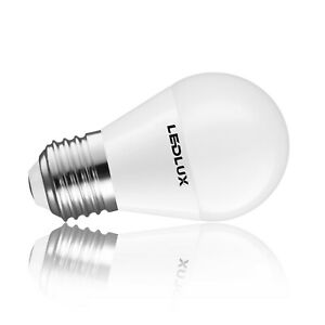 E27 6W LED lampe, Warm/Neutral/Kaltweiss, 470 Lumen Ø 45 x 80mm Ra 80, LumenTEC