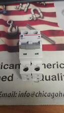 CUTLER HAMMER 10 AMP 2 POLE CIRCUIT BREAKERS DIN MT WMS2D10 I have 7 of them.