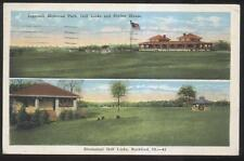 1926 Postcard Rockford Il/Illinois Ingersoll & Sinnissippi Counry Club House
