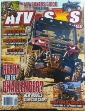 ATV & SXS Illustrated Vol 14 Issue 1 Ready For The Challenger FREE SHIPPING sb