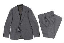 mens Hugo Boss Jalston /Lenon1 Wool Cashmere Grey Slim fit Suit sz US 42R