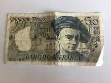 Billet France 50 Francs Quentin De La Tour 1977 (91-34)