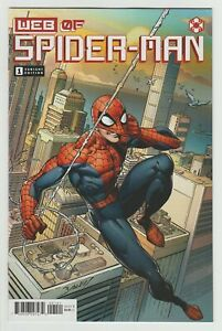 Web Of Spider-Man #1 (2021) VF/NM 1:25 Bagley Variant Marvel Comics
