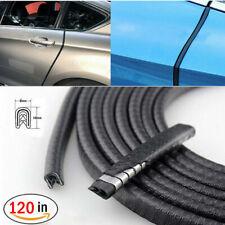 "120"" Car Door Seal Strip Rubber Weatherstrip Protector Edge Trim Guard Pinchweld"