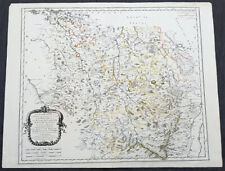 1661 Nicolas Sanson Large Antique Map of the Lorraine Region of France