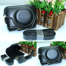 Fashion leather Black Case Bag for Sony DSC-RX100M III RX100M3 DSCRX100M4 Camera