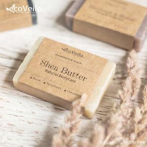 Handmade Luxury Vegan Soap Cruelty Free Scented Exfoliate Eco Gift