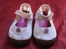 Newborn SZ 2 Pink Leather Faded Glory baby girl shoes reborn baby doll acessory
