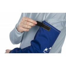 Weldas 33-2320 Fire Fox™ blue flame retardant cotton welding sleeves (2pcs-pair)