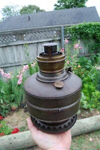 Antique Miller Co The New Juno Factory U.S.A Metal Oil Burner Lamp Insert parts