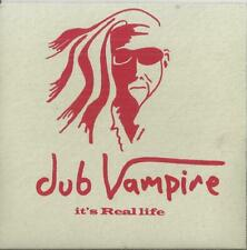 Dub Vampire - It's Real life -  4 Track Promo CD