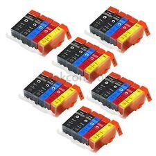30x DRUCKER PATRONEN für CANON PIXMA IP4850 IP4950 IX6550 MG5150 MG5250 MG5350