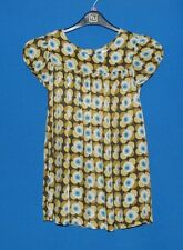 ~NEXT~MULTICOLOUR PATTERNED SHORT SLEEVE DRESS~SIZE AGE 9 YEARS~
