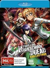 High School of the Dead Collection  NEW B Region Blu Ray