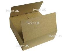 """5 Postal Storage Cardboard Boxes 12.5 x 12.5 x 4"""" S/W"""