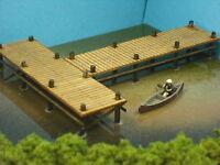 N Scale Laser Cut Boat Dock Pier Kit