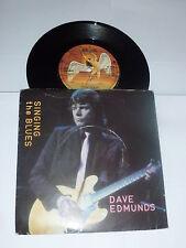 "DAVE EDMUNDS - Singing The Blues - 1980 UK 7"" vinyl single"
