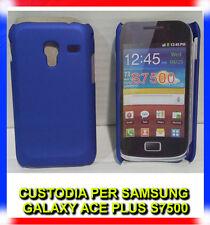 Pellicola + custodia back cover BLU per Samsung Galaxy Ace Plus S7500 (H8)
