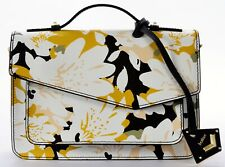 NWT BOTKIER COBBLE HILL SAFFIANO LEATHER TOP HANDLE CROSSBODY BAG WARM FLORAL
