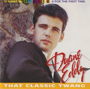 DUANE EDDY That Classic Twang (Bear Family CD 1994) 13 tunes in Stereo Like New