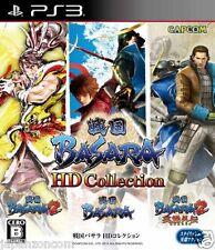 Used PS3 Sengoku Basara HD Collection SONY PLAYSTATION 3 JAPAN JAPANESE IMPORT