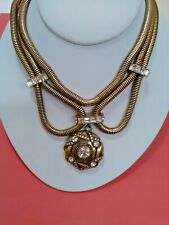 Fashion Metal Necklace with Pendant