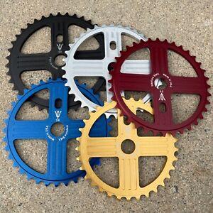 Neptune Helm Alloy Sprocket Chainwheel USA Made BMX Bike Sprockets Se Gt Redline