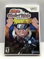Naruto: Clash of Ninja Revolution (Nintendo Wii, 2007) Clean & Tested Working