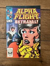 "Alpha Flight Marvel Comic Book ""Betrayal!"" #8 VF 1984"