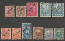 Peru Telegraph tax revenue cinderella fiscal collection stamp ml231