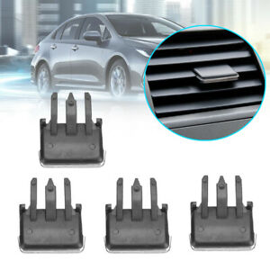 4* Car Air Conditioning Vent Louvre Blade Slice Clip For Toyota Corolla
