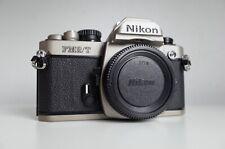 [Excellent] NIKON FM2/T SLR corps   Rare Titane   FILM testé   FM3A F3