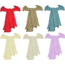 Women/Ladies Magic Scarf Fluffy Tube Knit Polyester Soft Outdoor Head Wear scarf