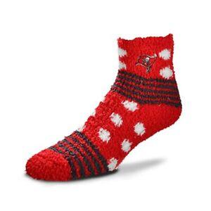 NEW Tampa Bay Buccaneers NFL Homegater Soft Fuzzy Sleep Socks One Size Tom Brady