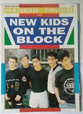 NEW KIDS ON THE BLOCK POSTER  MAGAZINE 90'S POP.DONNIE WAHLBERG. JORDAN KNIGHT.