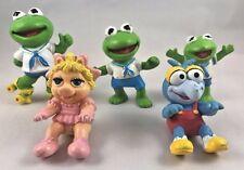 McDonalds Happy Meal Toys Muppet Babies Kermit Roller Skate Gonzo Miss Piggy  M5