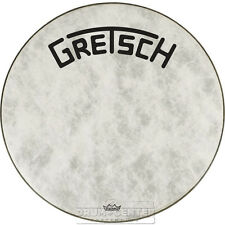 Gretsch Bass Drum Head Fiberskyn 20 With Broadkaster Logo