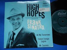 FRANK SINATRA - HIGH HOPES - SOUTH AFRICA 45 EP